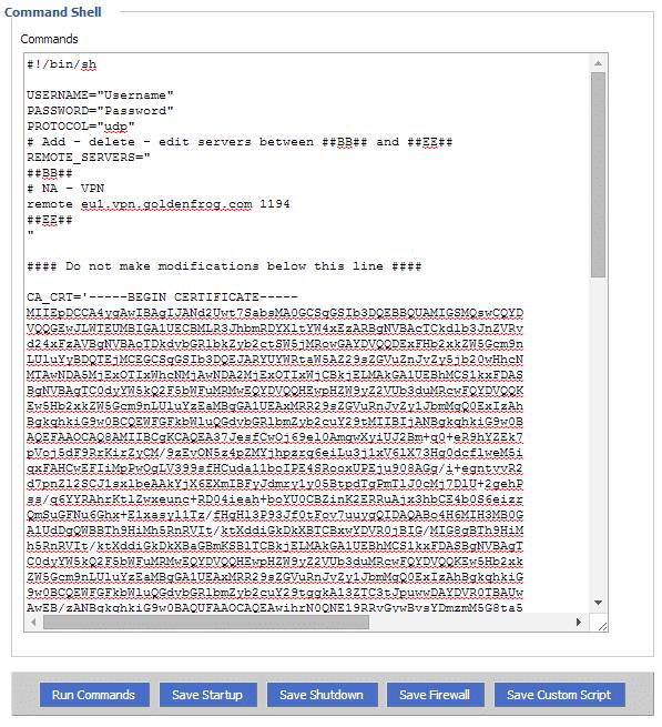 DDWRT OpenVPN Setup 1