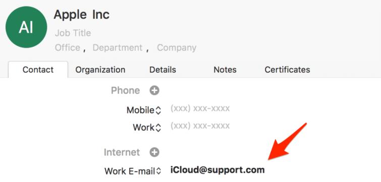 Apple Phishing