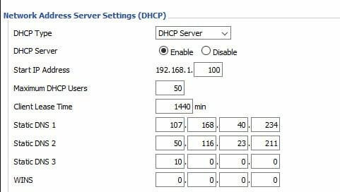 DNS DD-WRT 2