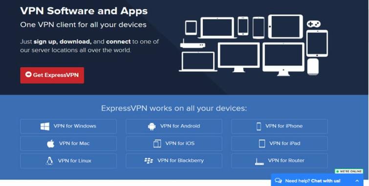 expressvpn app platforms