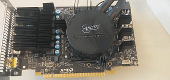 AIO Water Cooled RX480