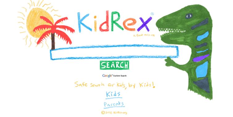 Kidsrex Child Friendly Search Engine