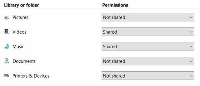Network Sharing 2