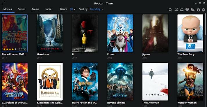 Popcorn Time Jan 2018
