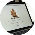 torrenting the pirate bay