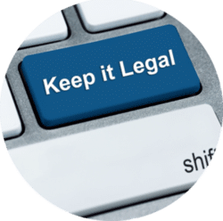 Legal Downloading Button