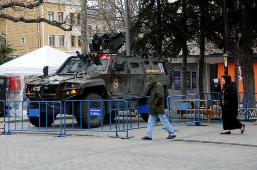 Turkey On Duty Tank