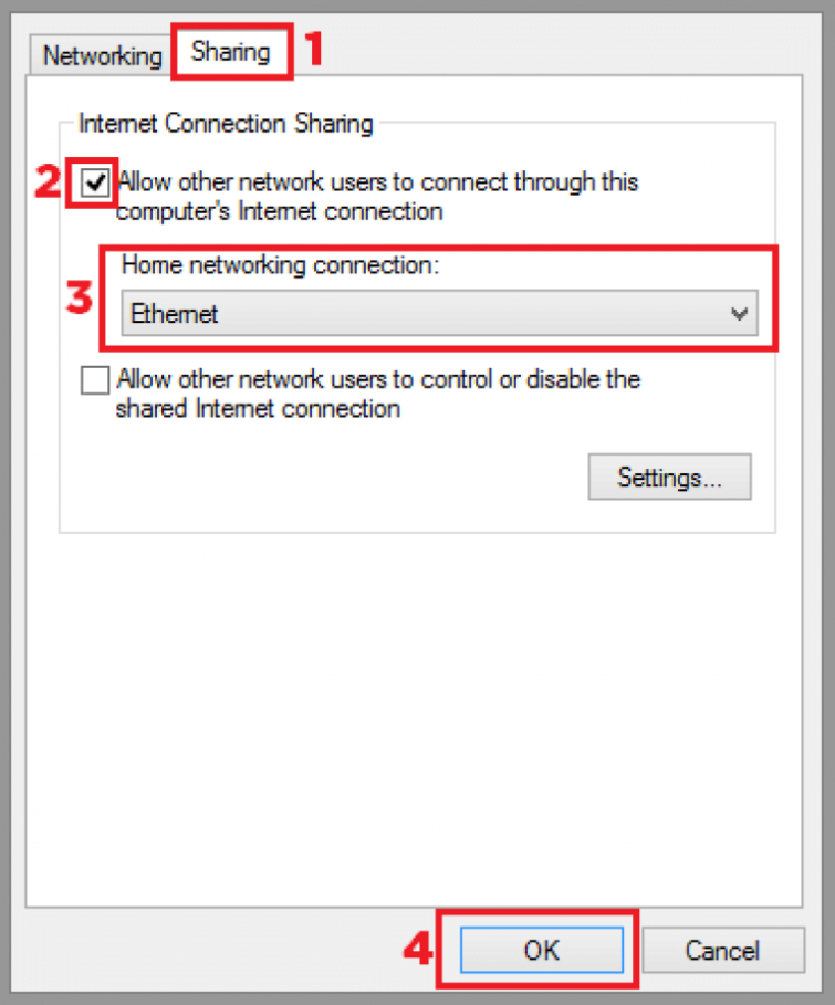 Set up a VPN with a PC