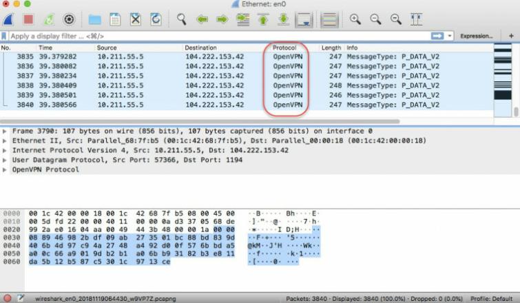 Open VPN scramble XOR