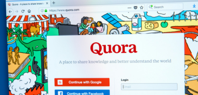Quora the question an answer website gets hacked