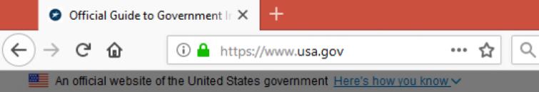 https on URL bar