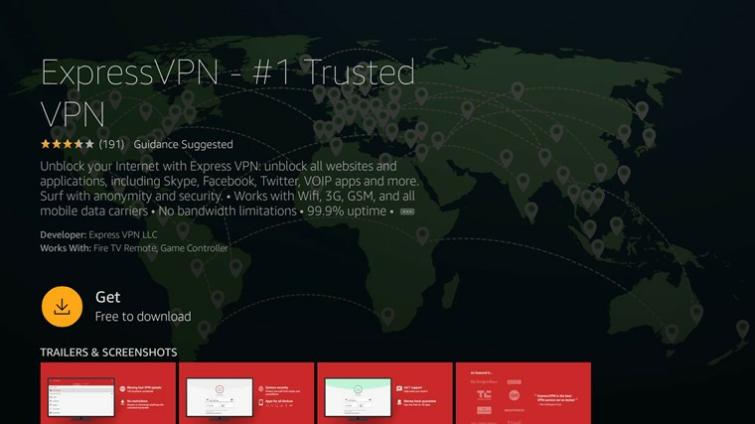Install a VPN on firestick Step 2