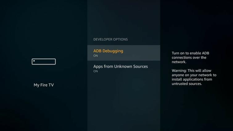 Firestick VPN ADB bugging