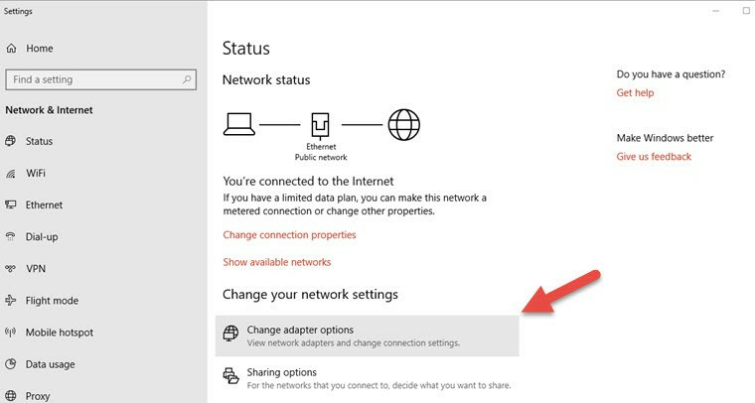 setup a vpn on apple tv with windows 10 over ethernet image 1