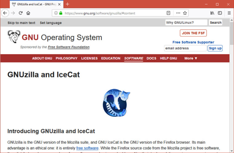 icecat browser